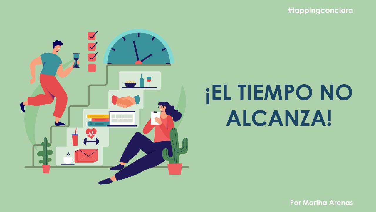 EL TIEMPO NO ALCANZA, QUE ESTRÉS